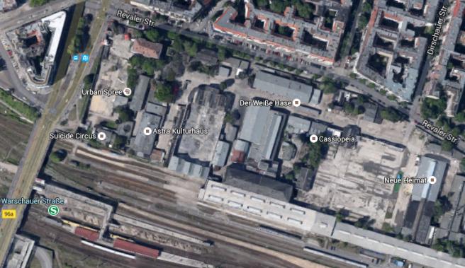 RAW-Gelände GoogleMaps
