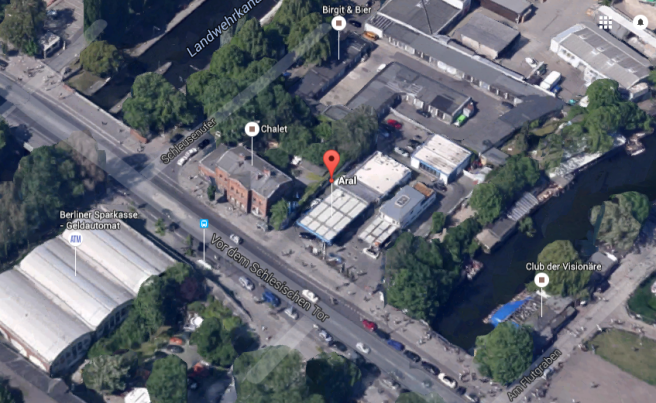 SchlesischeStraße GoogleMaps