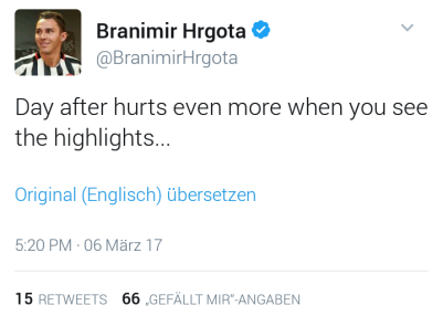 Hrgota official tweet