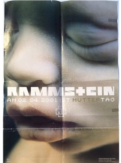 Rammstein Muttertag Poster