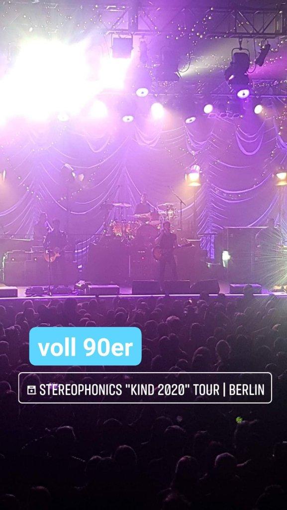 Stereophonics live im Huxleys Berlin 2020: Die 90er haben überlebt