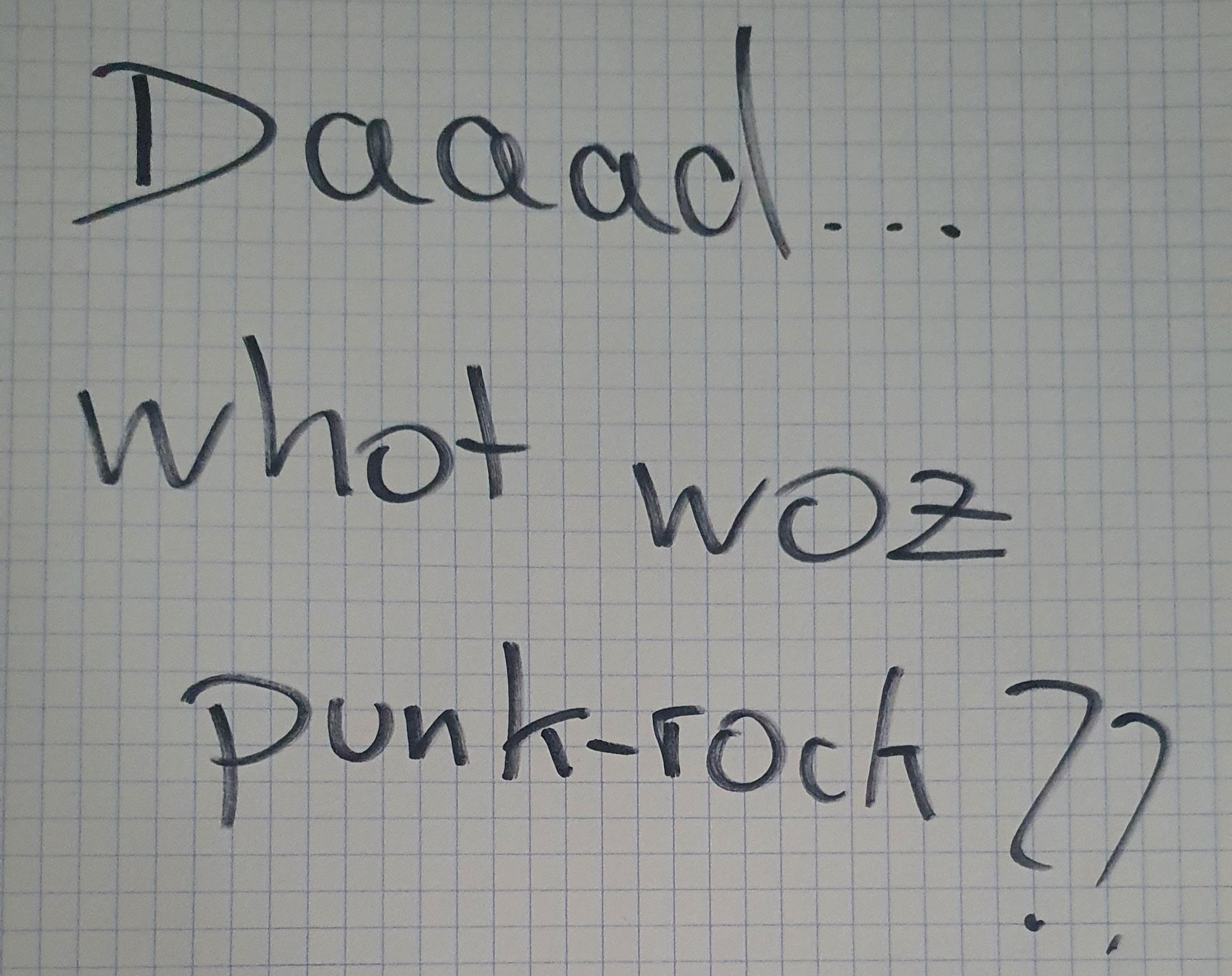 Was war noch mal Punkrock?