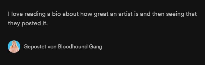 Best band bios on Spotify: Bloodhound Gang