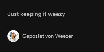 Best band bios in music streaming history: Weezer